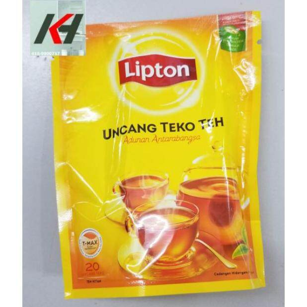 Lipton Tea Bag Uncang Teko Teh Potbags 20 READY STOCK