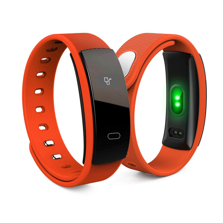 Auoker Heart Rate Monitor Smart Band Blood Pressure Monitor IP67 Smart Wristband Fitness Tracker Smart Bracelet
