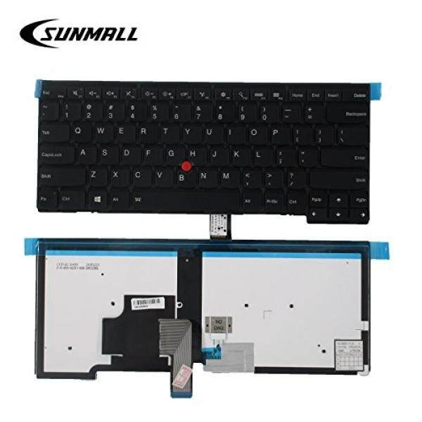 SUNMALL Backlit Keyboard replacement for Lenovo ThinkPad T431 T431S E431 T440 T440P T440S E440 L440 T450 T450S T460 series laptop US Black Layout(6 Months Warranty) - intl