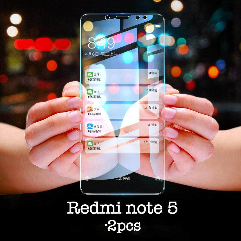 2pcs for Xiaomi Redmi note 5 Screen Protection Tempered Glass 2.5D Glass For Redmi note