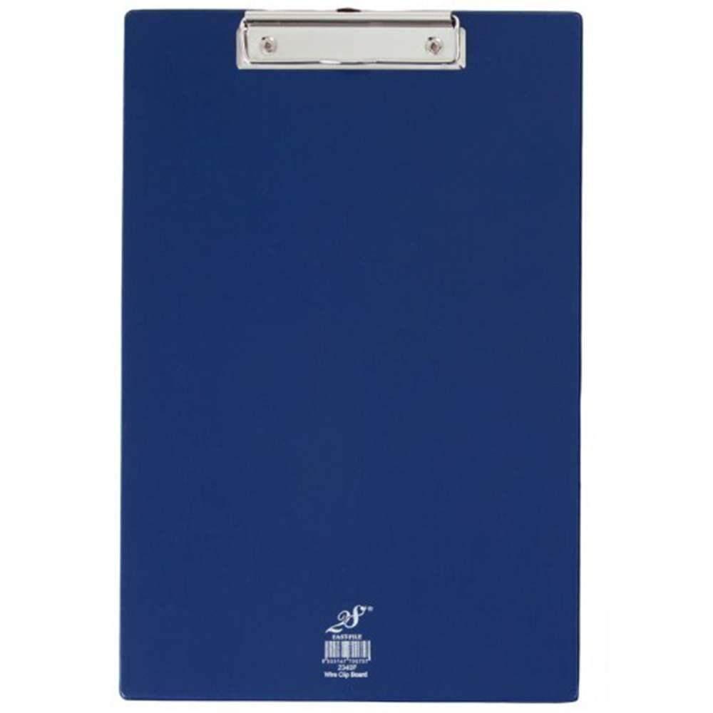 EAST FILE PVC WIRE CLIPBOARD-BLUE-2340F (Item No: B11-27 BL)