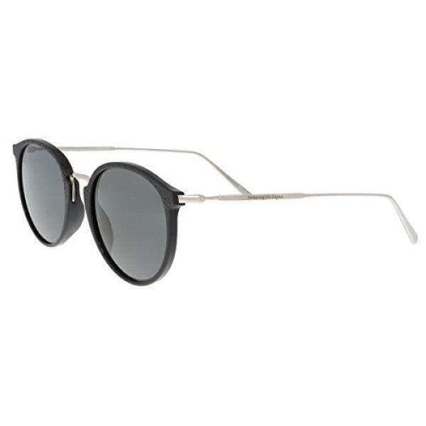 Sunglasses Ermenegildo Zegna EZ 0048 01A shiny black / smoke