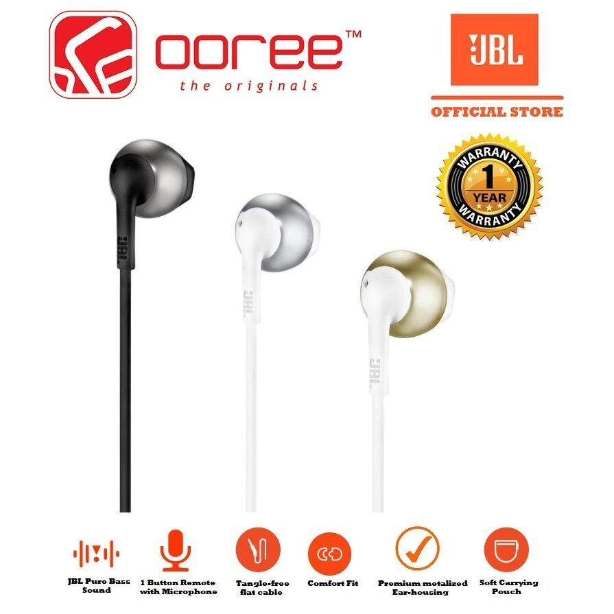 2a06d712bcd GENUINE JBL T205 Comfort-fit ergonomics earbuds Headphone Malaysia