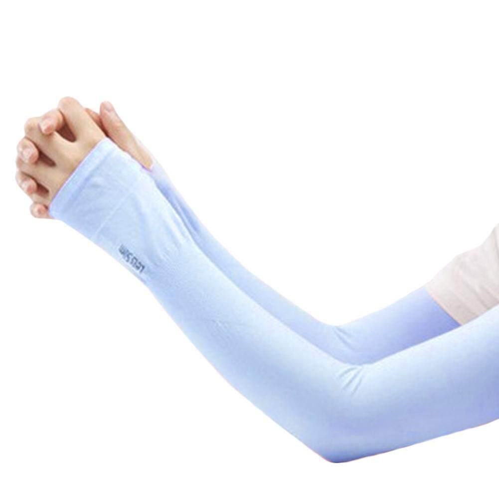 Bagian Melaju UV Tabir Surya Setengah Jari Manset Sunscreen Lengan Tangan Tangan Perlindungan Wanita & Pria