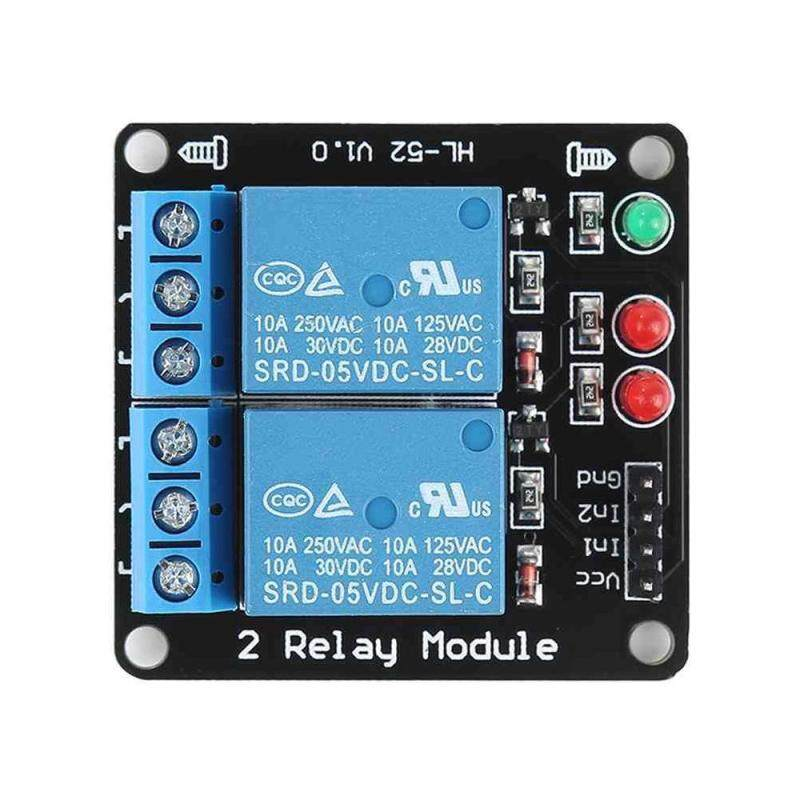 Bảng giá M_home 5V 2 Channel Relay Board Module Standard Interface Without Optocoupler LED for Arduino PIC ARM AVR - intl Phong Vũ