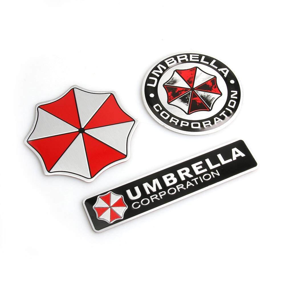 Car Stickers Automobiles & Motorcycles 75mm 3d Aluminum Alloy Umbrella Corporation Car Stickers Resident Evil Decals Emblem Decorations Badge Auto Accessories