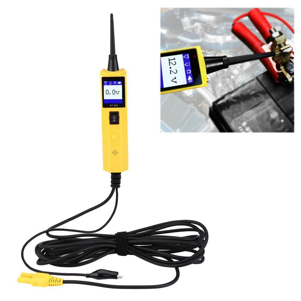Features Car Electrical System Diagnostic Tool Automotive Circuit Dc 6v 12v Tester Light Voltage Continuity Long Probe Test Power 4
