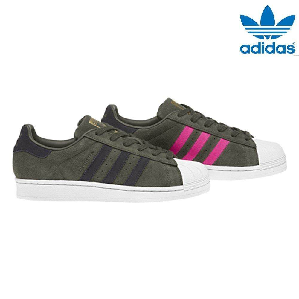 timeless design ccbe5 662ca Adidas 2018 New Unisex Originals Superstar Shoes CG5460 Night  Cargo Carbon Shock Pink