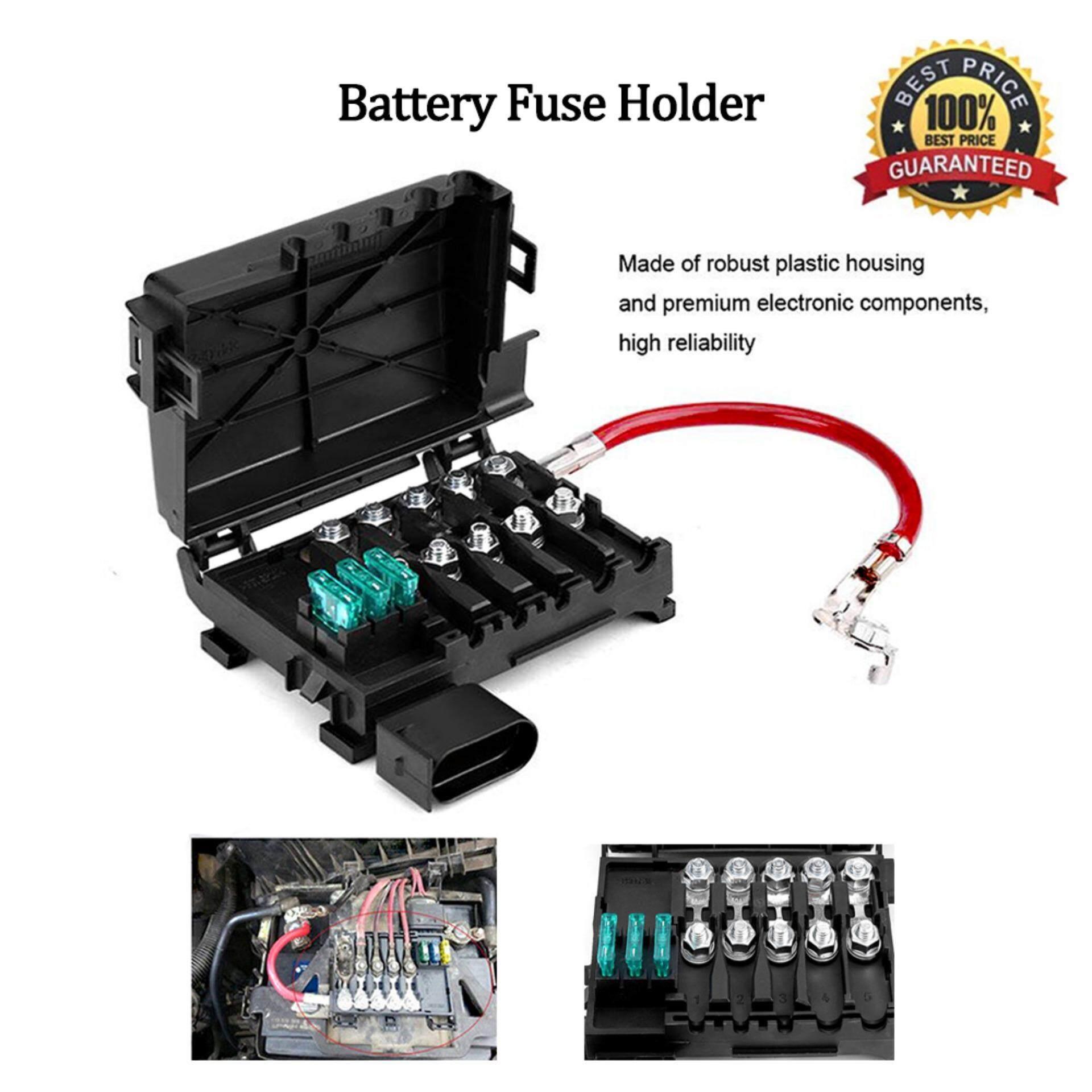 Features Vetomile Fuse Box 10 Way Pc Terminal Cs 579b3 Dan Harga Plastic Battery Car Holder For Vw Jetta Golf