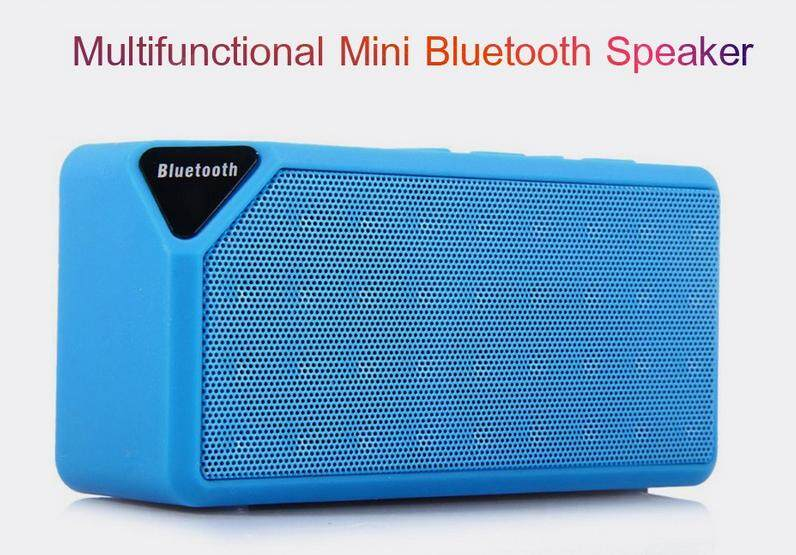 FF X3 Wireless Bluetooth Speaker Outdoor Small Box Audio Mini Portable Radio Card Cube Subwoofer -