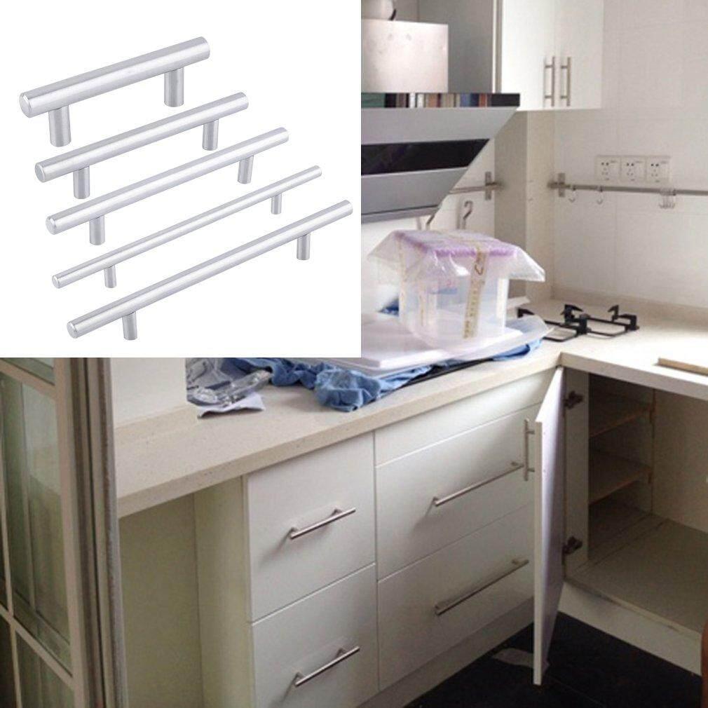 CHEER Practical Stainless Steel Kitchen Door Cabinet T Bar Handle Pull Knob 12mm - intl
