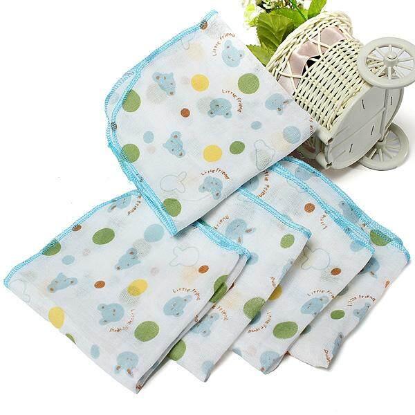 10pcs Baby Infant Newborn Soft Washcloth Bath Towel Bathing Feeding Wipe Cloth By Glimmer.