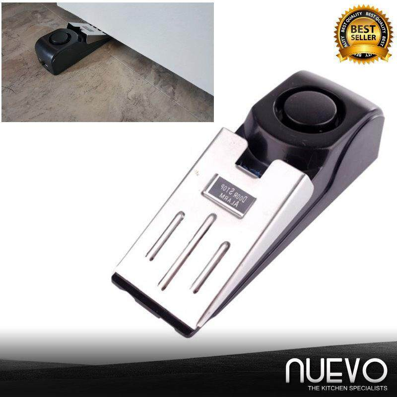 Nuevo Portable Door Stop Alarm Wireless Home Travel Security System Safety Wedge Alert