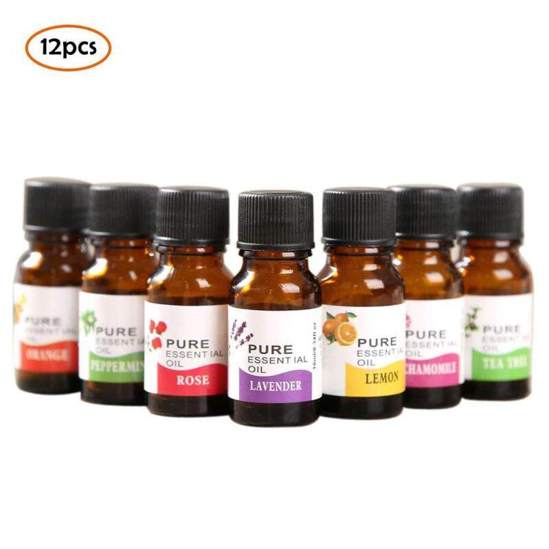 binwu 12pcs Essential Oils Kit for Aromatherapy 10ml Natural Plant Essential Oil for Humidifier Singapore