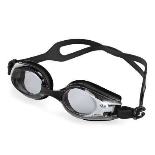 XinHang OPT1200 UV Protection Anti-fog Optical Swimming Goggles (BLACK)