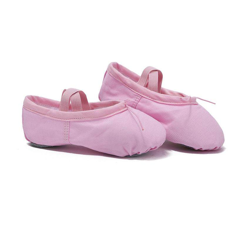 6405c226e0 Canvas Soft Ballet Shoes Children Adults Dance Shoes Yoga Sneakers Kids  Dancing Shoes Pointe Flat Shoes Fitness Breathable Slippers