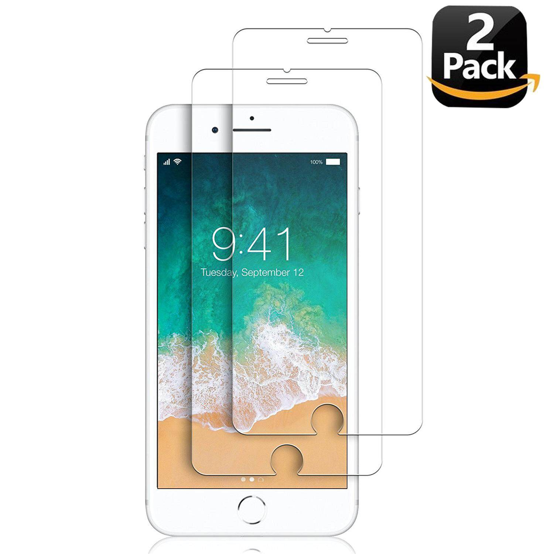 IPhone 7 Plus Layar Pelindung Kaca, luowan Kaca Melunakkan Layar Pelindung untuk Apple iPhone 7 Plus [5.5 Inci] (Paket 2)