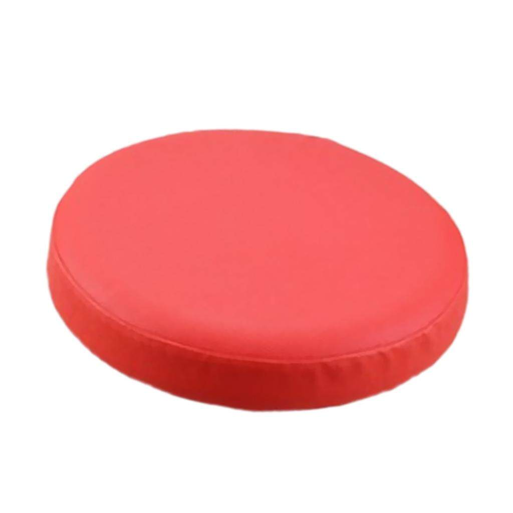 BolehDeals Elastic Bar Stool Covers Round Chair Seat Cover Cushion Slipcover Red - intl