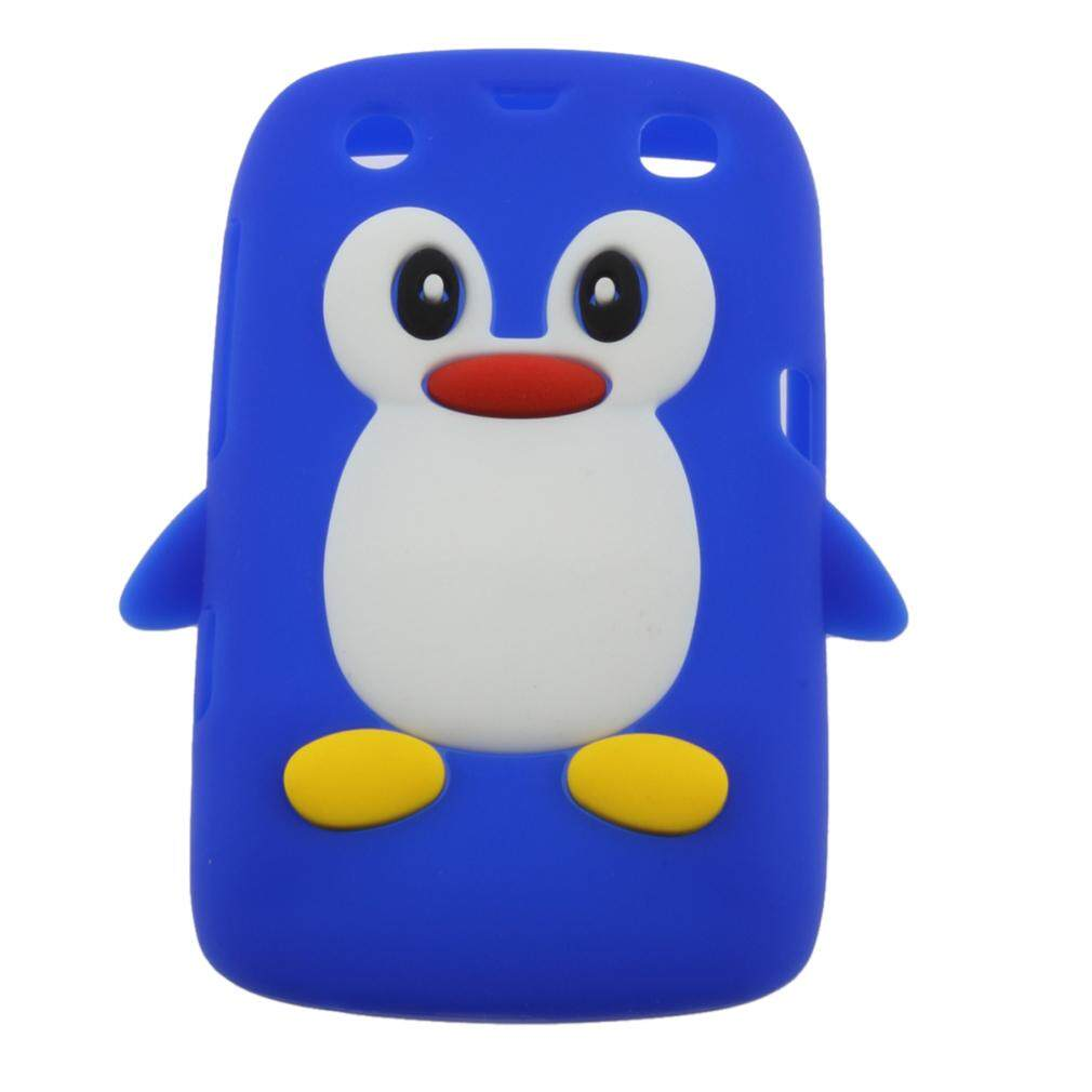 BEAU 3D Penguin Shape Silicone case cover for Blackberry 9360 /9350 /9370/Curve PT168 - intl