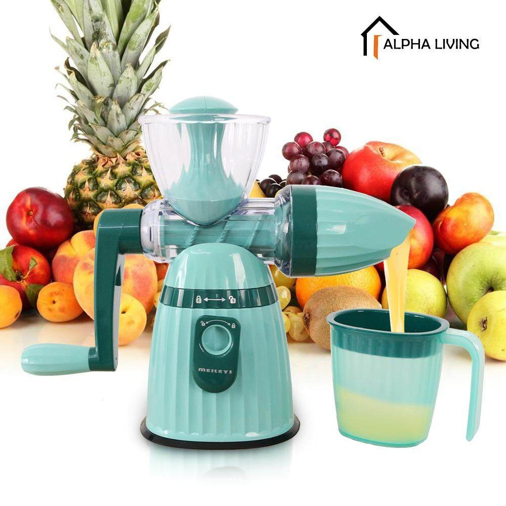 Manual juicer. Useful device for home 68