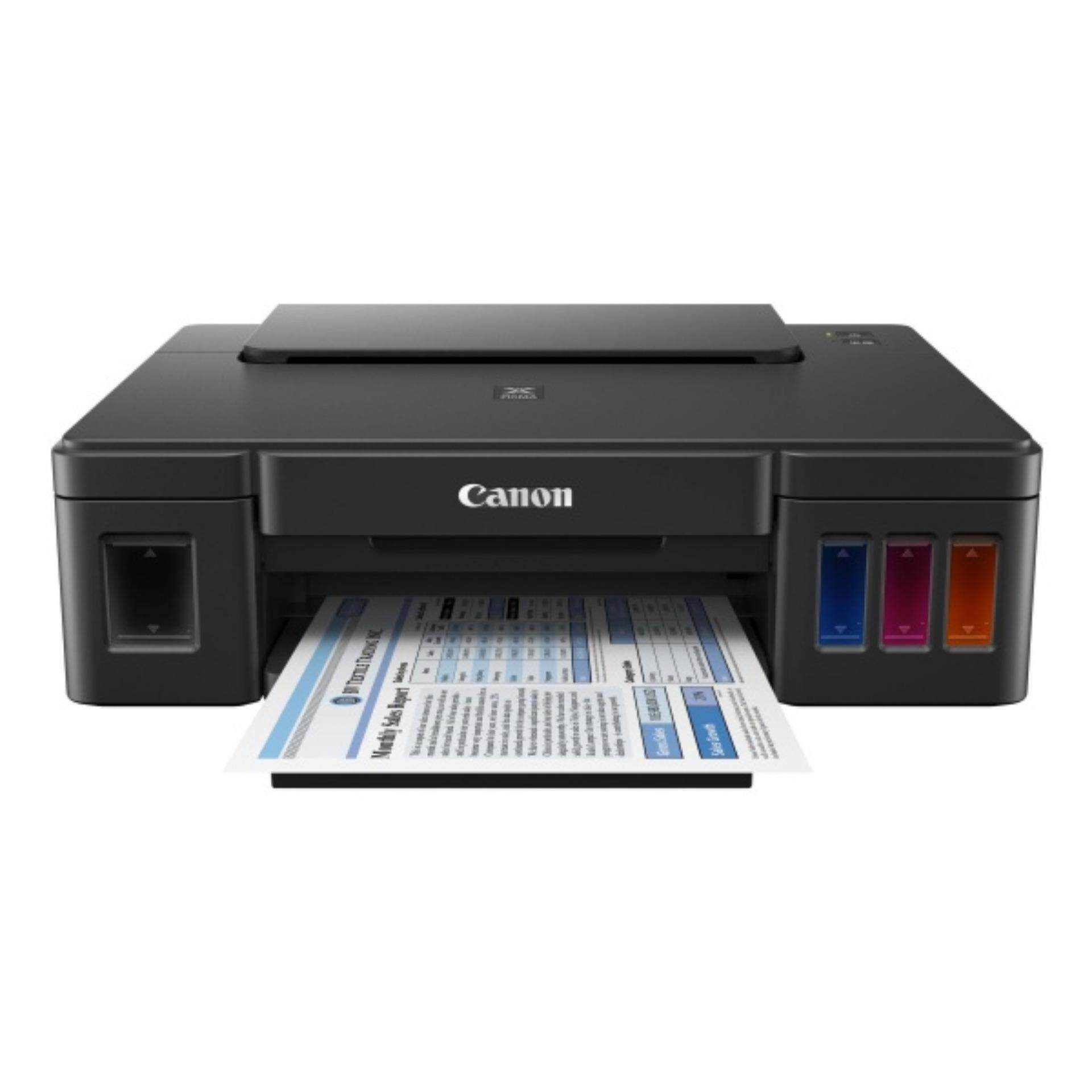 Canon PIXMA G1010 Refillable Ink Tank Printer MODEL PRINT