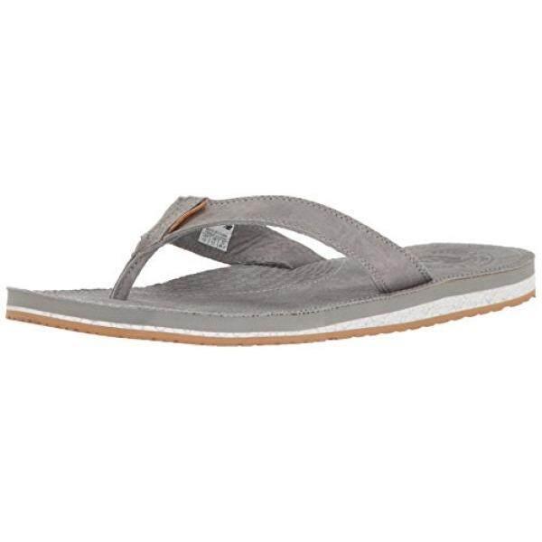Baru Balance Keseimbangan Baru Pria Sandal Thong Klasik, Grey/Gum, 9 D Kami-Internasional