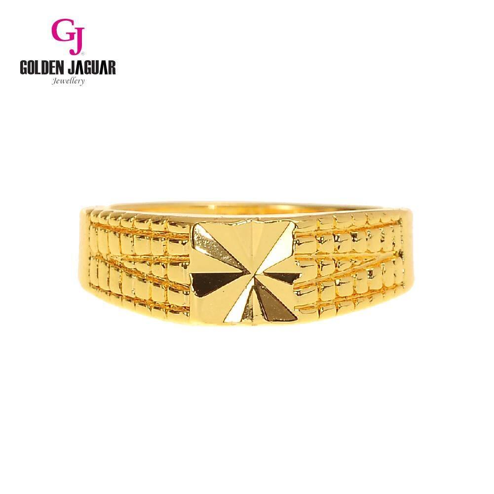 GJ Jewellery Emas Korea 24k - Cincin Mini Kikir (81601-13)