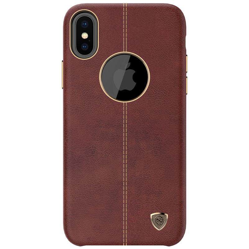 ... NILLKIN Englon Seri Case untuk Apple iPhone X Kulit Sarung Antik Case- Internasional - 3 ...