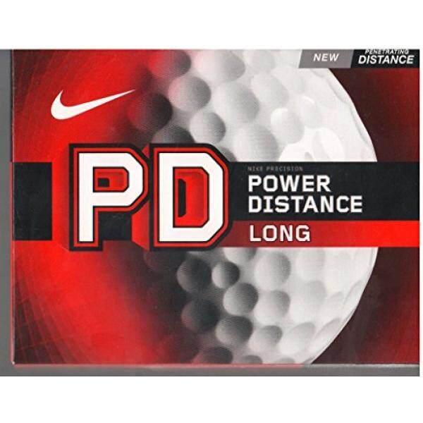 Nike Golf PD Panjang Power Jarak Golf Balls, Putih-Internasional