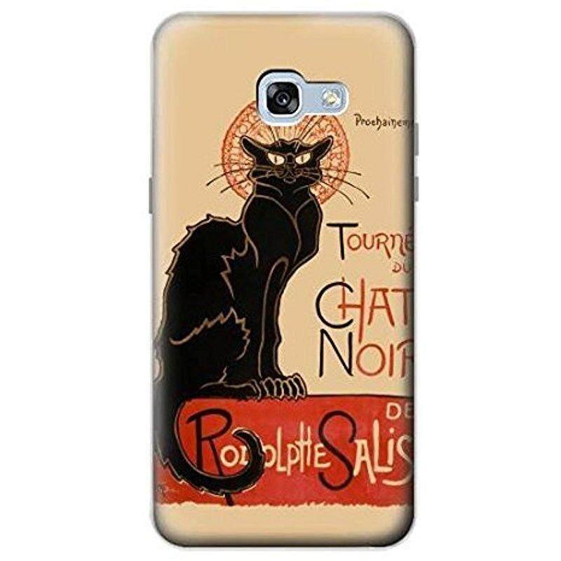 Baru R2739 Chat Noir Hitam Kucing Antik Case Sarung untuk Samsung Galaksi A5 (2017)-Internasional