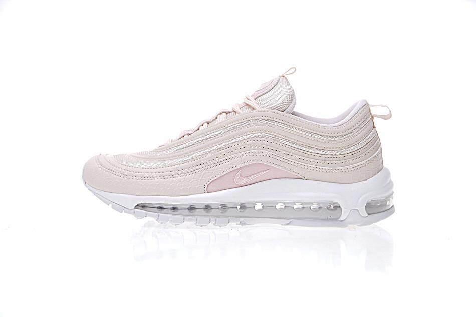 Nike Air Max 97 Premium Snake Silt Red White Black Pink Women Trainer 917646 600 - intl