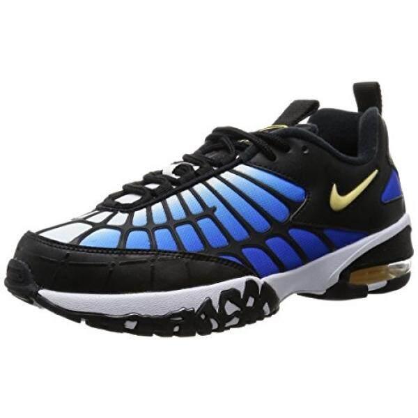 Nike Udara Maksimum 120 Pria Sepak Bola Sepatu 819857-400_10-Hiper Biru/Chamois-Hitam-Putih-Internasional