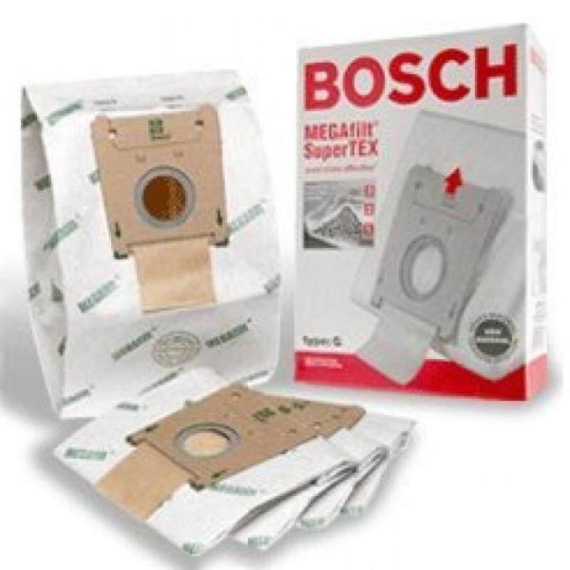 Bosch Part#462544 - Genuine Type G MEGAfilt SuperTEX Vacuum Bag (BBZ51AFG2U) - Fits Bosch Compact Series and Formula Series Vacuums - 5/Package - intl Singapore