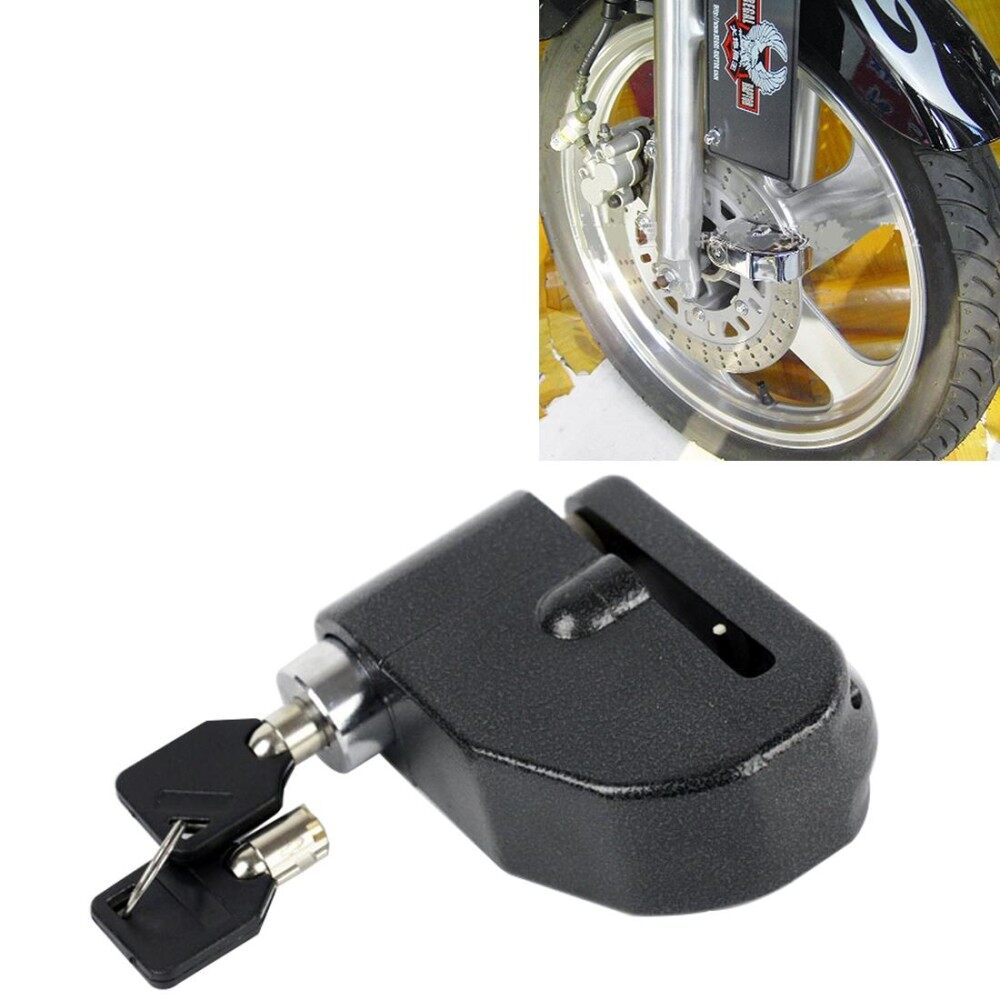 Sepeda Motor Anti-Air Logam Alarm Peringatan Mengunci dengan Tombol-Internasional