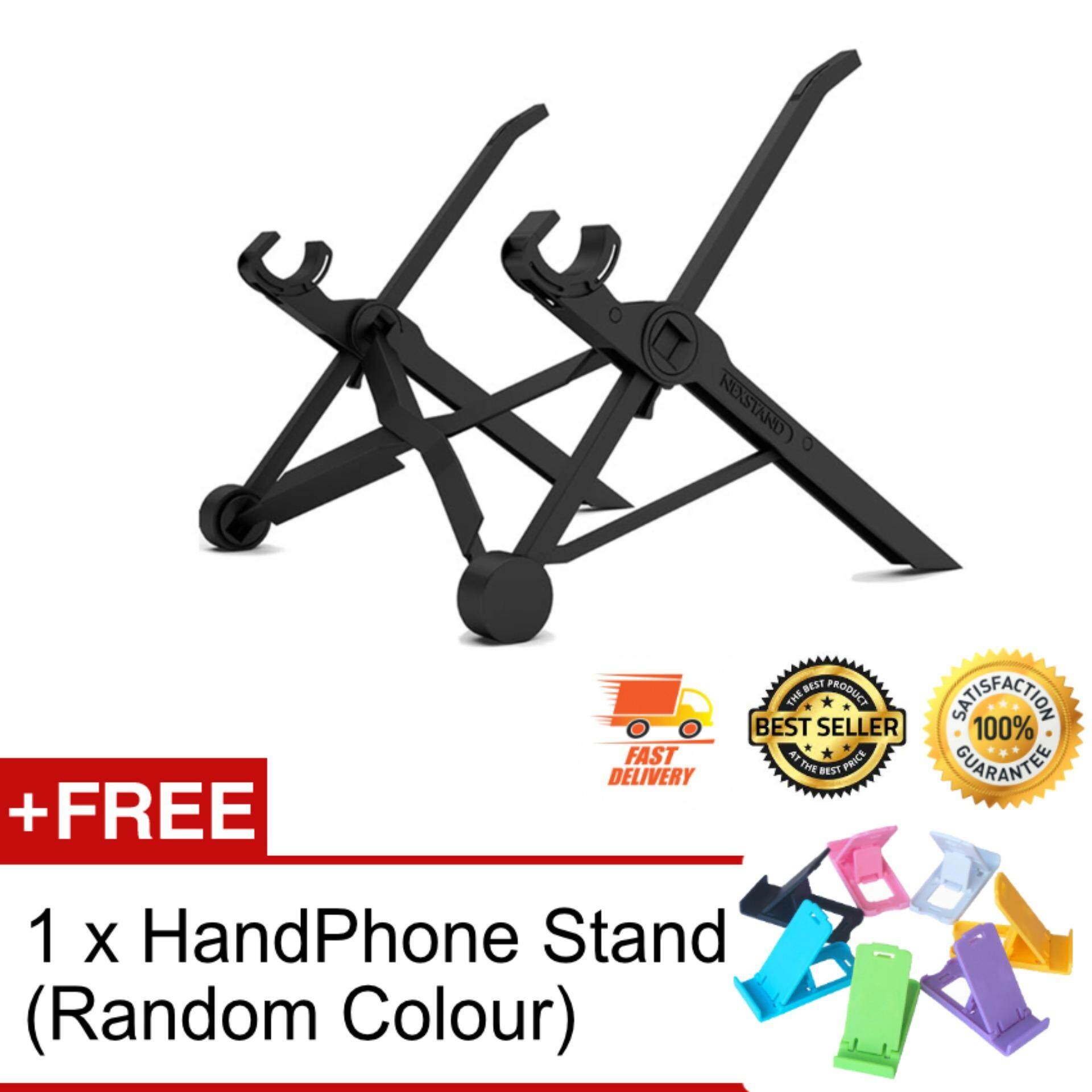 NEXSTAND K2 360 Adjustable Fordable Laptop Stand Eye-Level Ergonomic Laptop Stand Compact Portable Desk for Apple Macbook PC Laptop