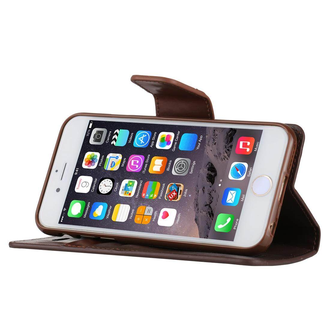 Features Mercury Goospery Sonata Diary Series For Iphone 6 6s Fancy Case Brown Black Simulation Skin Horizontal Flip Leather