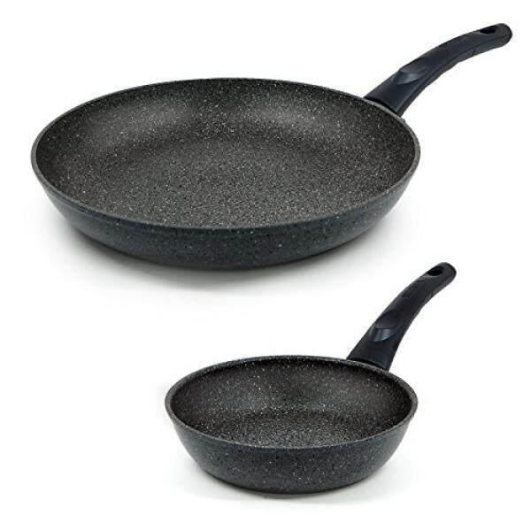 Techef-Tak Terbatas Collection/Penggorengan, dilapisi 4 Kali dengan Baru Teflon Stone Lapisan dengan Partikel Keramik-Internasional