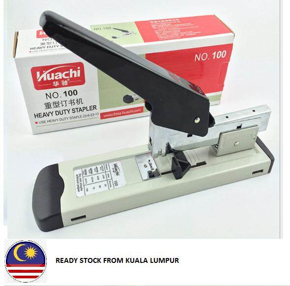 Ready Stock @ KL Heavy Duty Stapler No. 100 + Staples (Staple23/13 1000pcs)