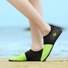 Aqua Air Sepatu Pria Wanita Cepat Kering Pantai Luar Ruangan Renang Air Sepatu Pantai Menyelam Sepatu