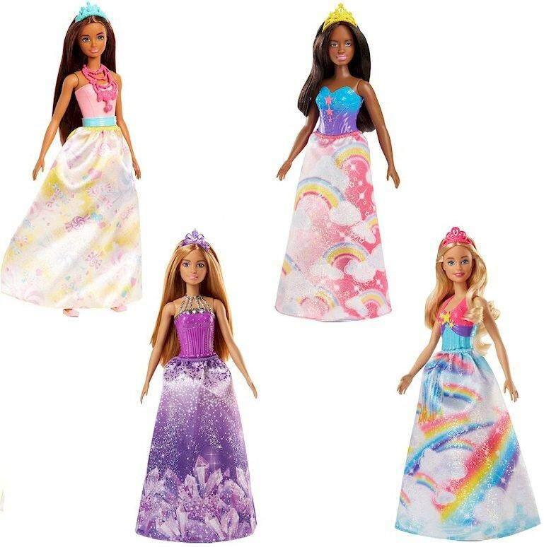 [BARBIE] Dreamtopia Princess Gem Fashion Doll Assortment (3 yrs+)