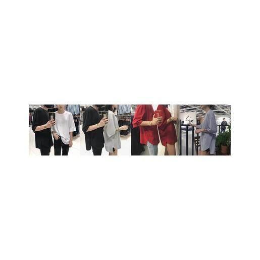 (Pre Order ETA 14/2) JYS Fashion Korean Couple Ulzzang Street Look Style Shirt Collection 230-9002 (Red)