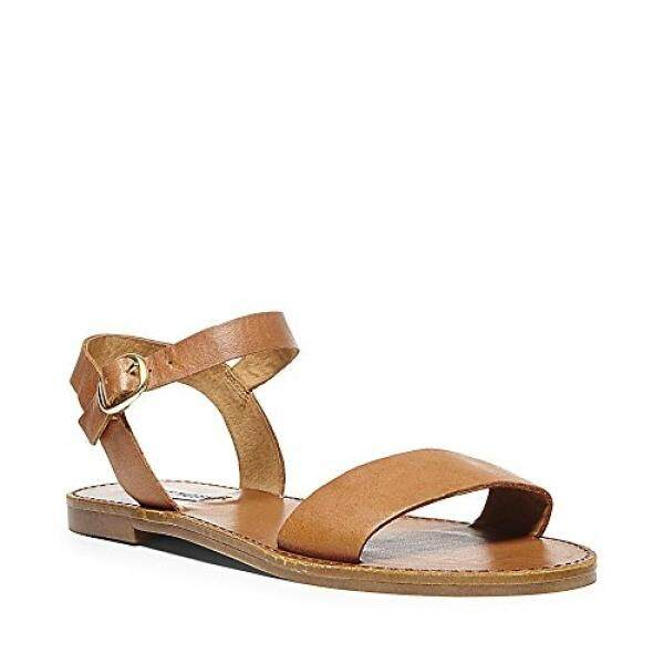 Steve Madden Womens Donddi Dress Sandal, Tan Leather, US