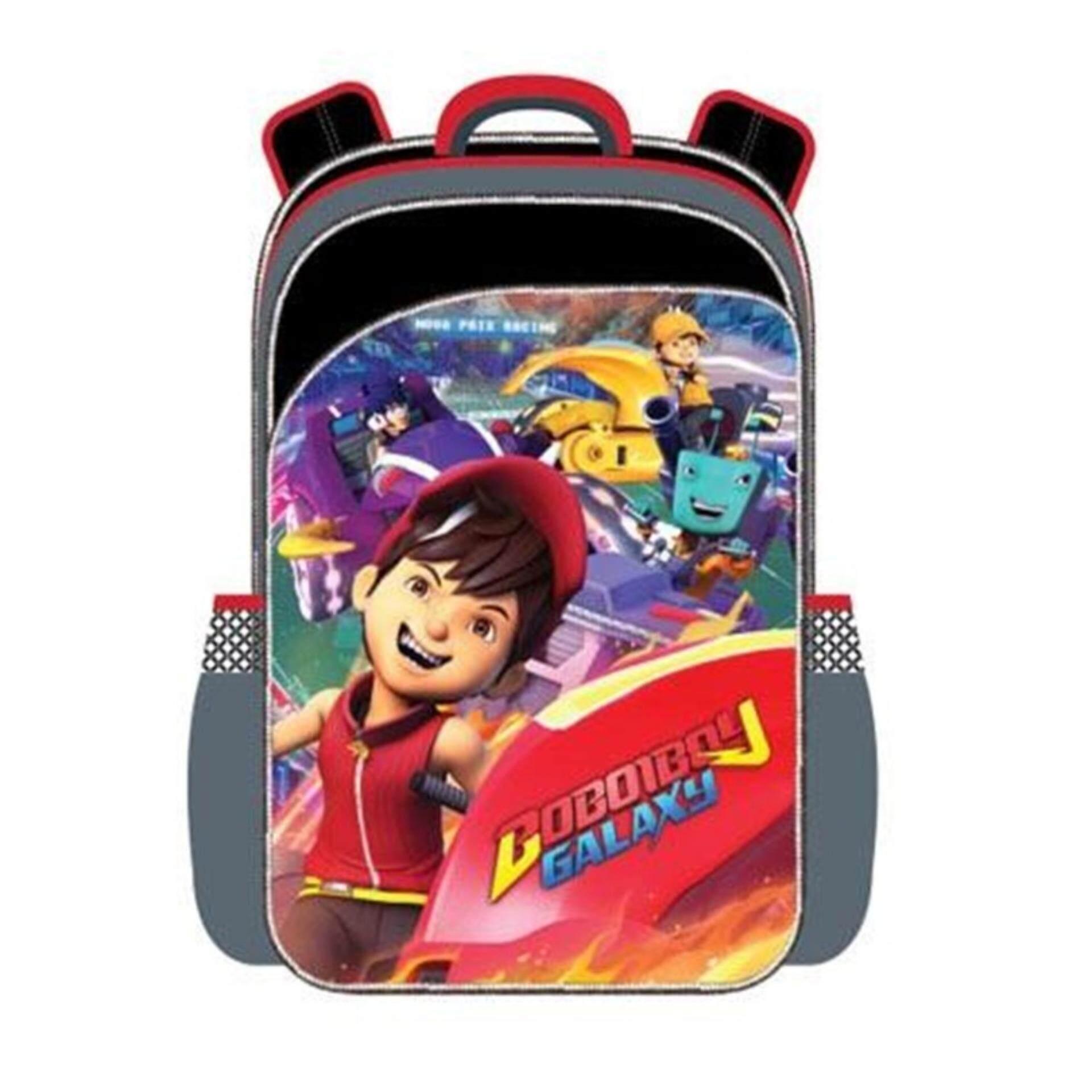 Boboiboy Galaxy Pre School Backpack Kindergarten Nursery Kids Children School Bag - Boboiboy Fire