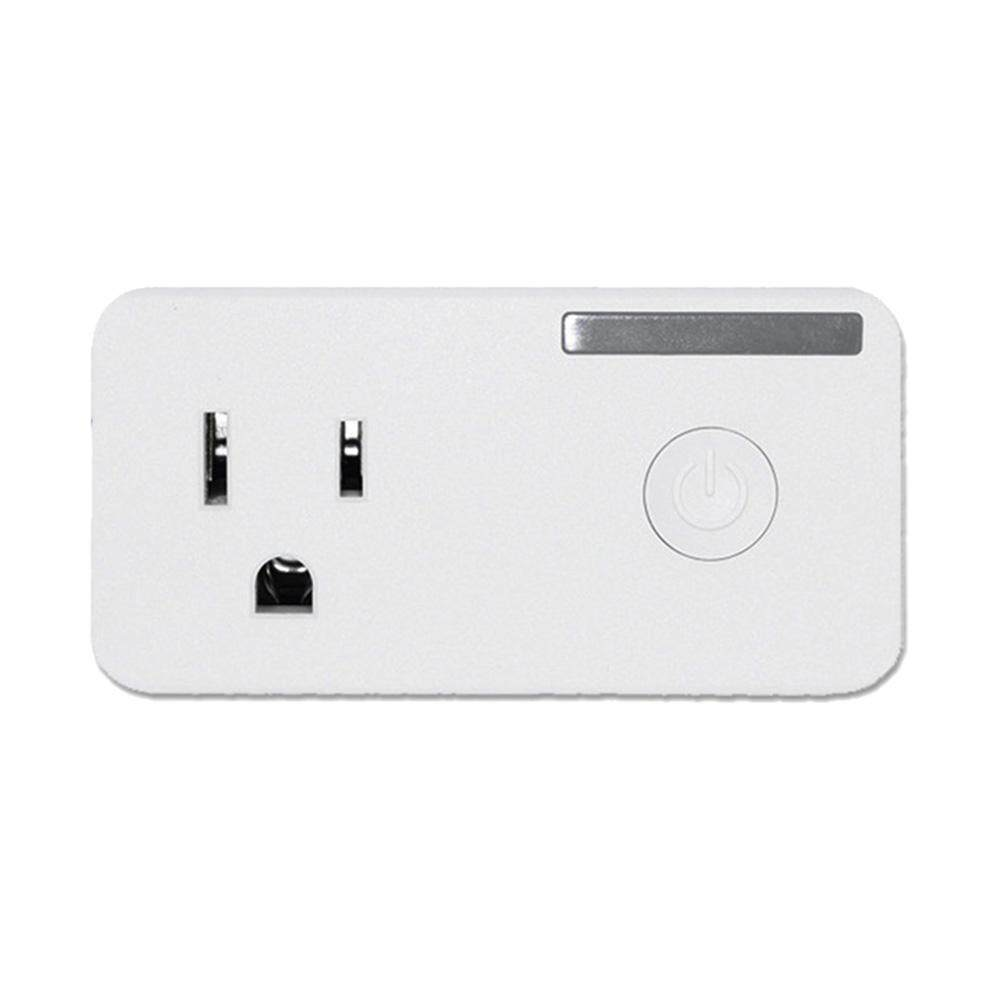 Hazobau US Plug Smart Plug WiFi, Mini Saklar Stopkontak, Bekerja dengan Amazon Alexa, Tidak Ada Hub Diperlukan, pengendali Jarak Jauh Perangkat dari Mana Saja, Ul Terdaftar dengan Fungsi Waktu, Menempati Hanya Satu Soket-Internasional