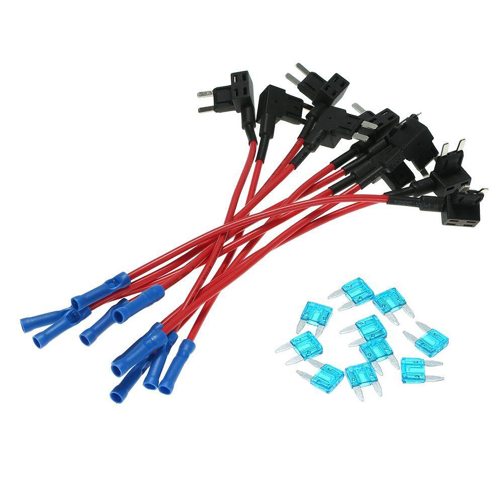 Add A Circuit Atc Standard Blade Fuse Holder Connector Features Car Motor Style Adapter Cable 10pcs 12v Tap Mini Atm