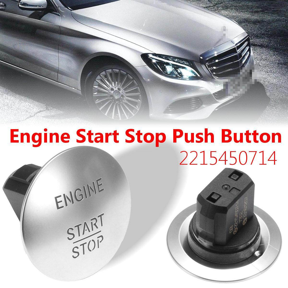 Features Keyless Go Engine Start Stop Push Button Ignition Switch Mercedes Benz For 2215450714 5