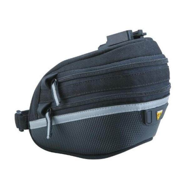 Topeak Wedge Pack II Seat Bag with F25 Fixer and Rain Cover intl .