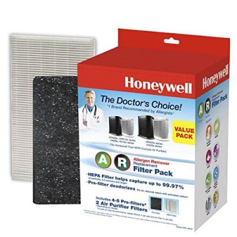 Honeywell HRF-ARVP True HEPA Filter Value Combo Pack, White - intl Singapore