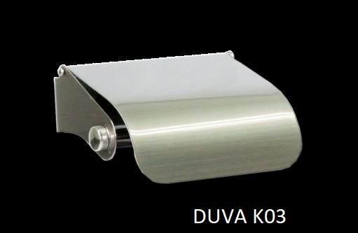 DUVENA  DUVA K03 STAINLESS STEEL PAPER HOLDER (MATT)