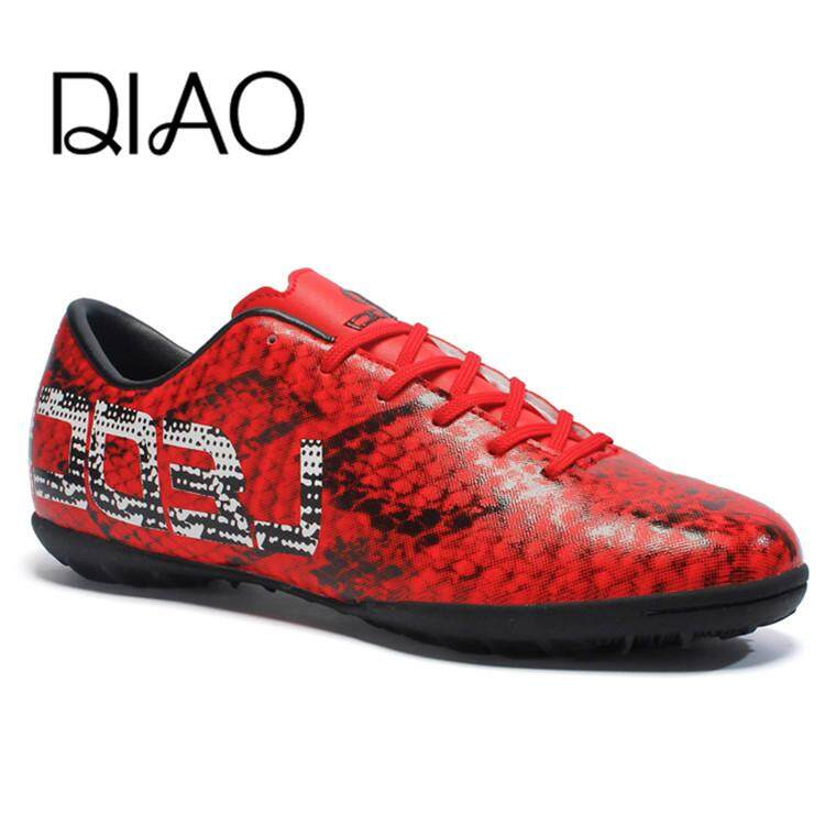 DIAO 2018 New Men's Soccer Shoes Sport Futsal Shoes TF Turf Soccer Cleats Athletic Trainers Sneakers